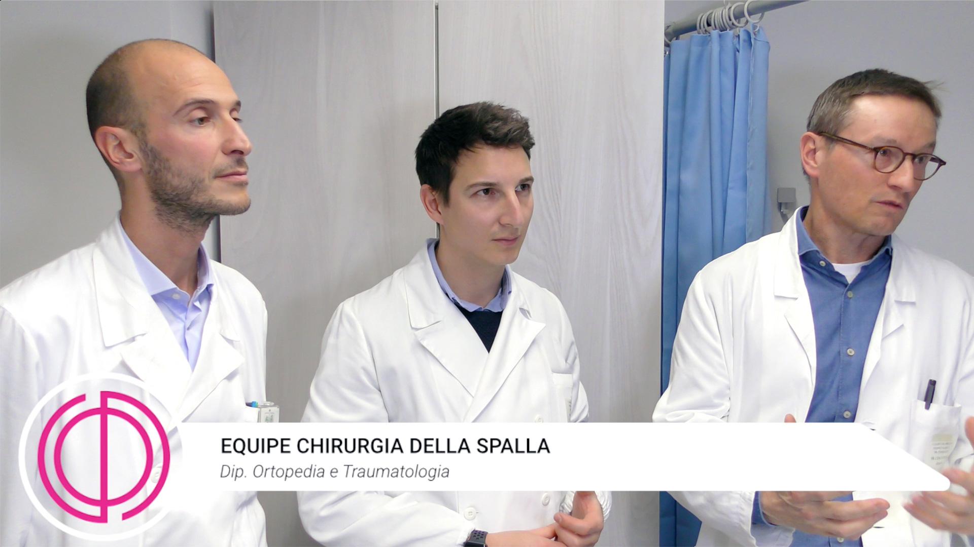 equipe chirurgia della spalla